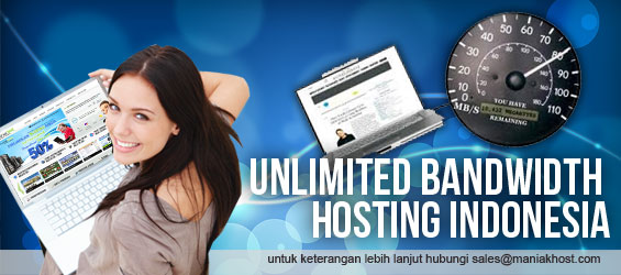 Unlimited Bandwidth Data Transfer Hosting Indonesia